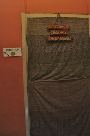 Borneo Backpackers: What you will see upon entering door