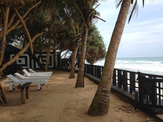 En primerísima línea de playa