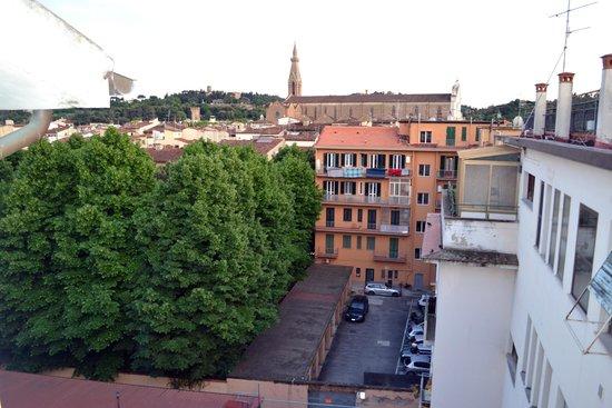 Hotel Bodoni : Вид с террассы
