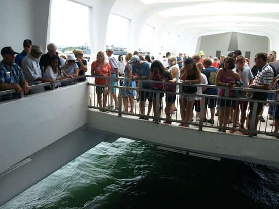 USS Arizona Memorial: Inside Arizona Memorial