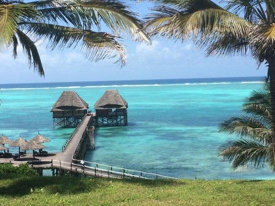 "Melia Zanzibar: Pool view overlooking the iconic ""Jetty"""