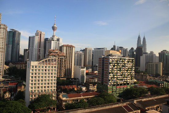 Royale Chulan Bukit Bintang: Nice view from window