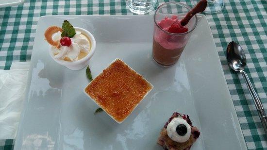 Fleurs D' Olargues: un des desserts