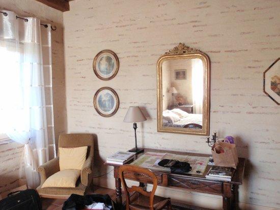 Granges-sur-Lot, France: chambre