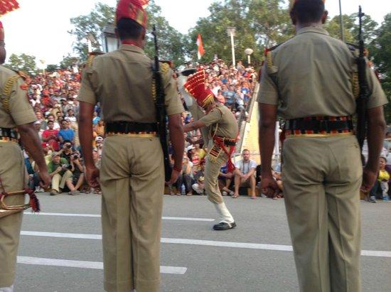 Wagah Border: Parade