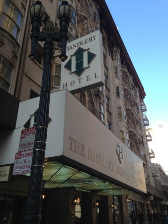 Handlery Union Square Hotel: 外観