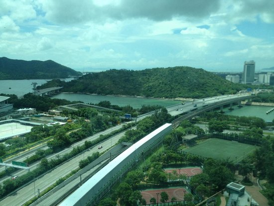 Novotel Citygate Hong Kong: View from window
