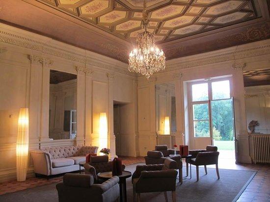 Chateau de Perreux - Amboise : Guests' lounge