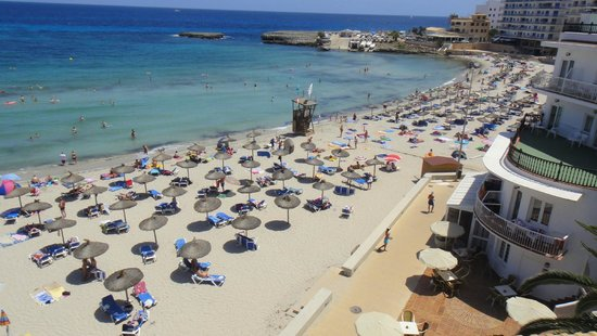 S Illot Mallorca Karte.Vue Du Solarium Picture Of Club S Illot S Illot Tripadvisor