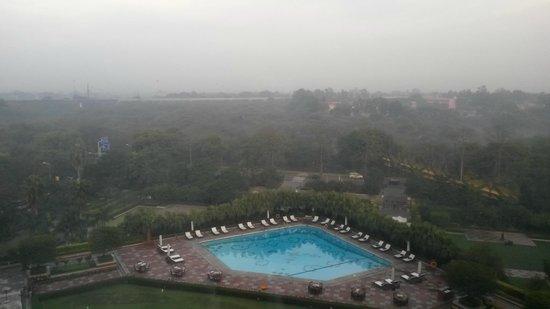 View from Taj Palace Hotel Room
