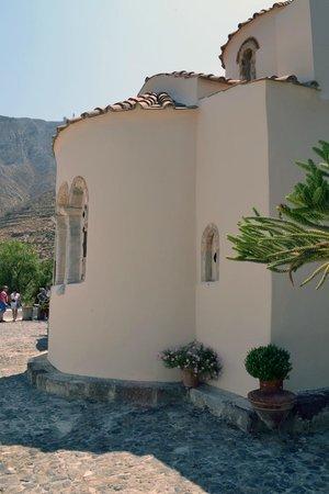 Panaghia Episcope: Delar av den vackra fasaden