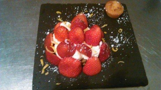 AU Galichon: tarte aux fraises revisitée