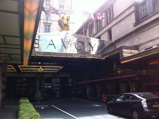 The Savoy: Entrance