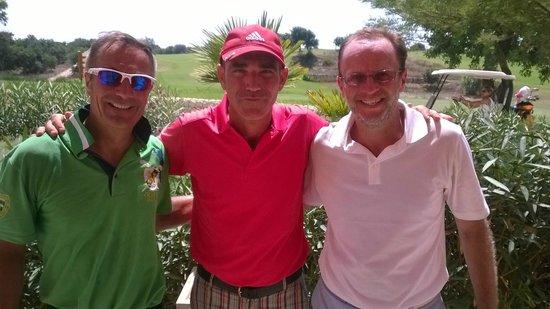 Donnafugata Golf Resort & Spa : Stefano, Maurizio et Rodolfo
