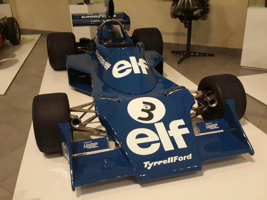 The Franschhoek Motor Museum: Jody Scheckter's Tyrell