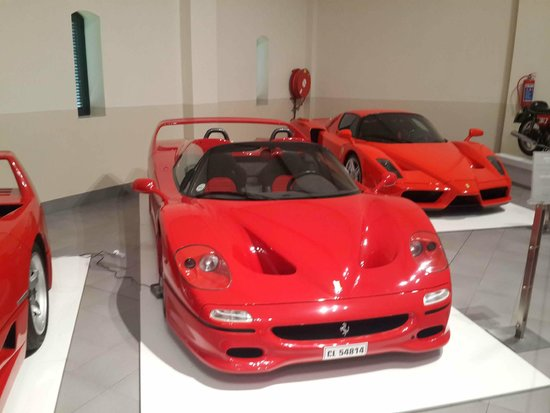The Franschhoek Motor Museum: Those Ferraris!