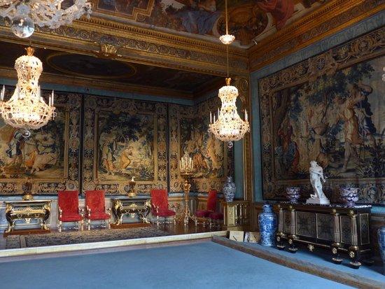 Château de Vaux-le-Vicomte : Une des salles du château