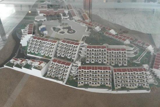 Servatur Puerto Azul : Model over hotel