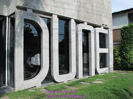 Dune Hua Hin: ้ป้ายหน้าโรงแรม