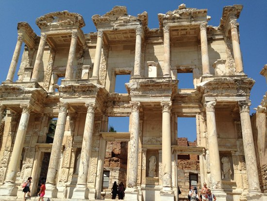 Ancient City of Ephesus: La biblioteca di Celso