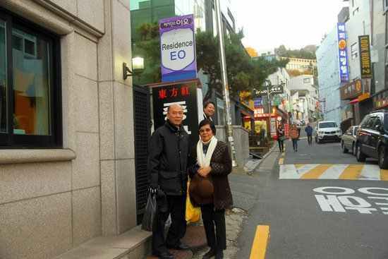 Zaza Backpackers Hostel: Entrance to Residence EO