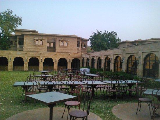Gorbandh Palace : une des nombreuses cours