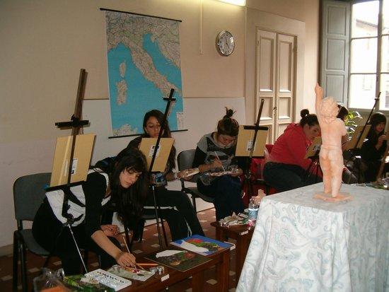 Villino degli Artisti : Corsi di pittura ad olio