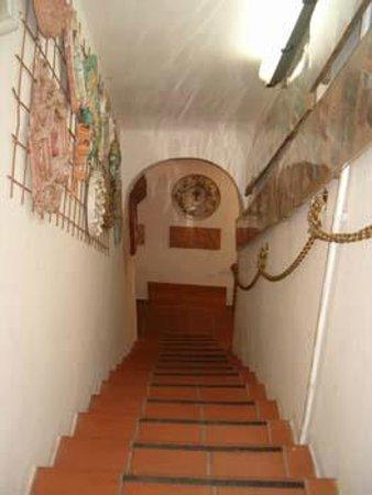 Villino degli Artisti: Entrata al museo di Antonio