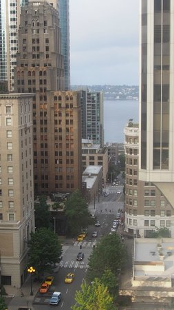 Hilton Seattle: View from room 1716