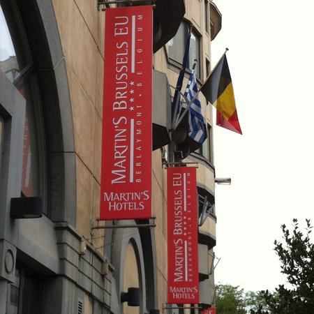 Martin's Brussels EU: Fachada hotel