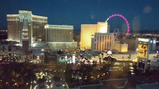 The Mirage Hotel & Casino: View from the Deluxe Junior Suite room