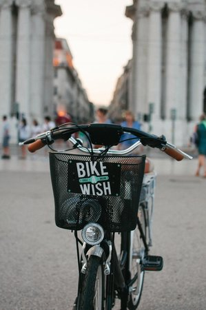 Bike A Wish: Entering the arch