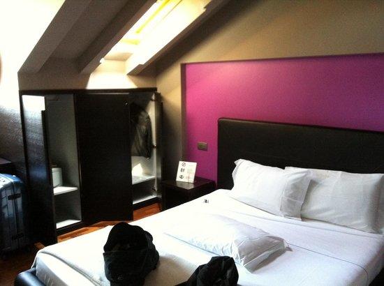 Sirio Hotel: la stanza mansardata