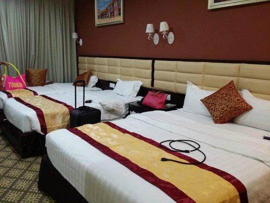Hallmark Regency Hotel: View in the room