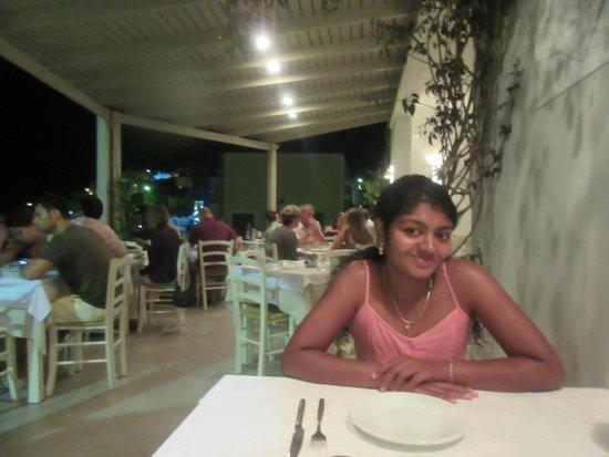 Aegeon Restaurant : Dinner Time
