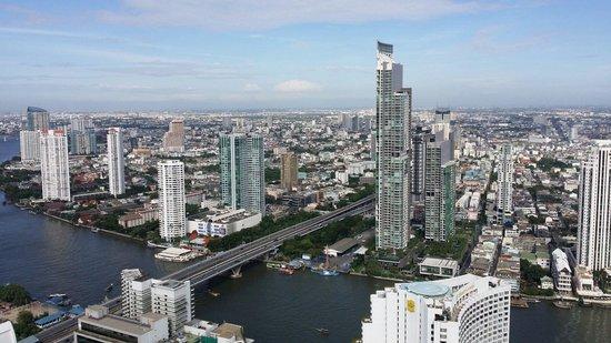 lebua at State Tower: Veduta dall'hotel al 56mo piano