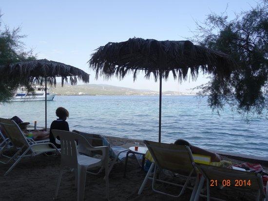 Hotel King Saron : plage