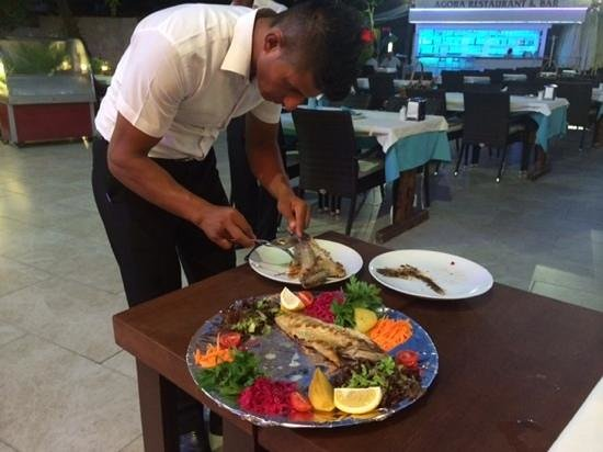 Agora CAFE & Restaurant: Lagos Grouper Fish