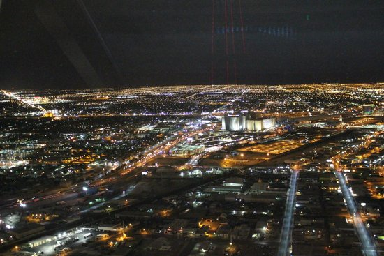Top of the World Restaurant at the Stratosphere : View from the restaurant