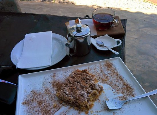 Dhow Mozambique: Fantastic Apple pie
