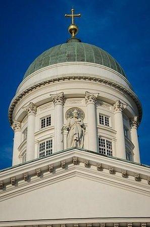 Cathédrale luthérienne d'Helsinki : Exterior