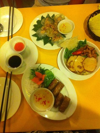The Mermaid (Nhu Y) Restaurant: apetizer