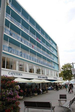Hotel Ramblamar : façade