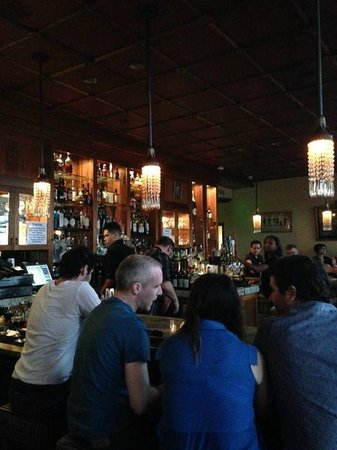 Perch : Bar in the restaurant level