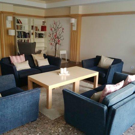 Hotel Ramblamar : salon