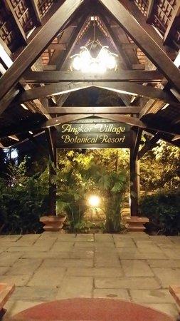 Angkor Village Resort : Ingresso