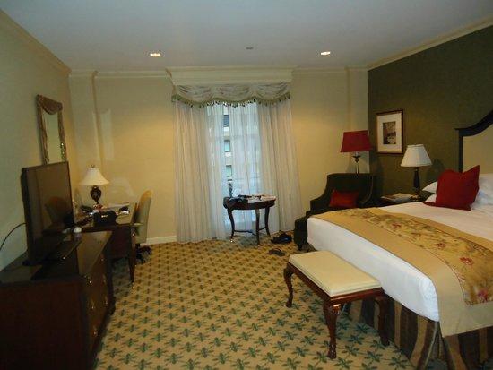 Willard InterContinental Washington: The rooms are very nice.