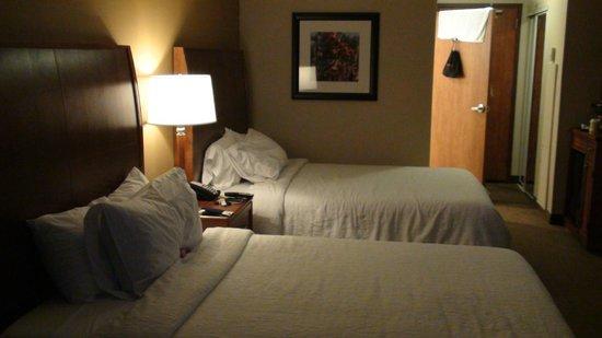 Hilton Garden Inn Houston/The Woodlands: Room ( Two Doubles )