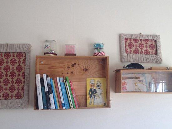 O Bigode do Rato: La piccola libreria della sala comune