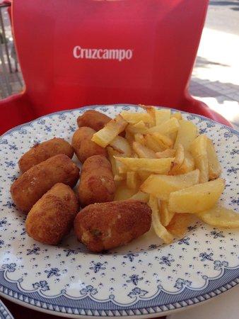 Restaurante Apolo: Croquetas - magnifique!